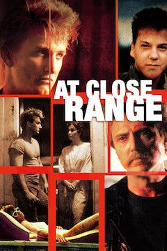 At Close Range movie poster.