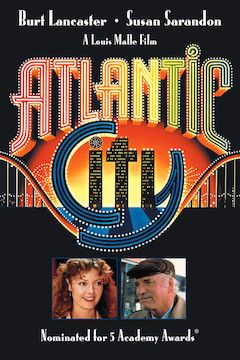 Atlantic City movie poster.