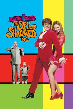 Austin Powers: The Spy Who Shagged Me movie poster.