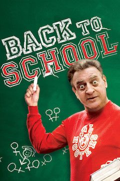 Back to School movie poster.