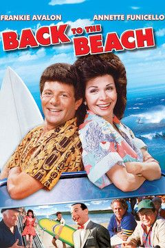 Back to the Beach movie poster.