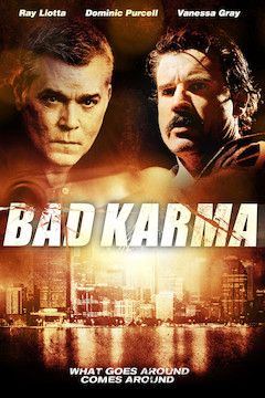 Bad Karma movie poster.