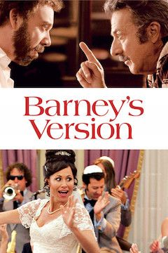 Barney's Version movie poster.