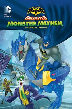 Batman Unlimited: Monster Mayhem movie poster.