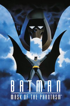 Batman: Mask of the Phantasm movie poster.