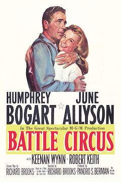Battle Circus movie poster.