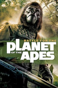 Poster for the movie Battle for the Planet of the Apes