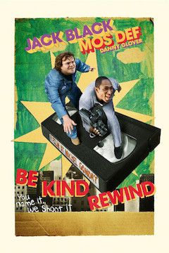 Be Kind Rewind movie poster.