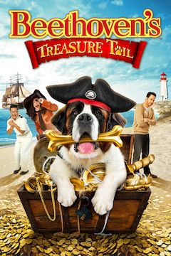 Beethoven's Treasure Tail movie poster.