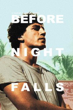 Before Night Falls movie poster.