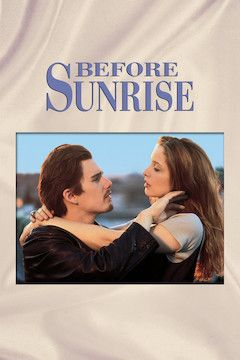 Before Sunrise movie poster.