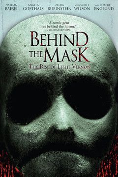 Behind the Mask: The Rise of Leslie Vernon movie poster.