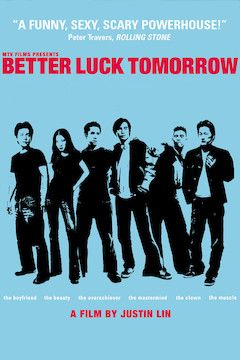 Better Luck Tomorrow movie poster.