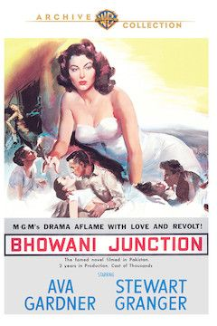 Bhowani Junction movie poster.