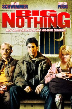 Big Nothing movie poster.
