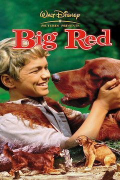 Big Red movie poster.