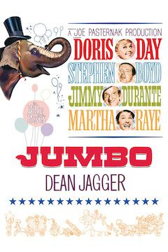 Billy Rose's Jumbo movie poster.