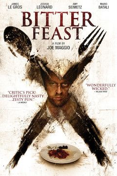 Bitter Feast movie poster.