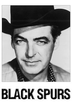 Poster for the movie Black Spurs