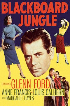 Blackboard Jungle movie poster.