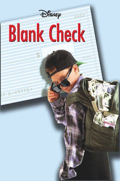 Blank Check movie poster.