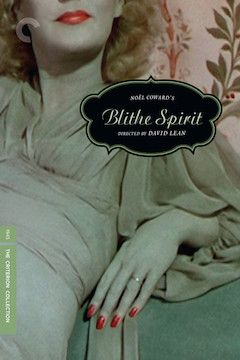 Blithe Spirit movie poster.