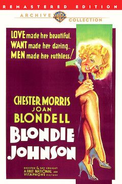 Blondie Johnson movie poster.
