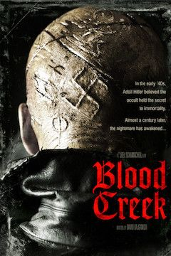 Blood Creek movie poster.