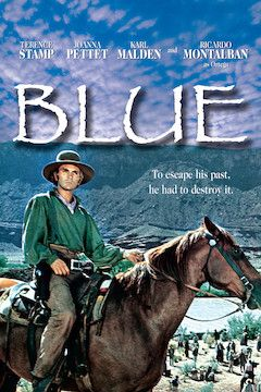 Blue movie poster.