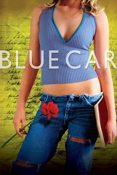 Poster for the movie Blue Car