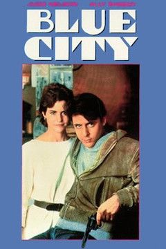 Blue City movie poster.