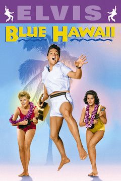 Poster for the movie Blue Hawaii