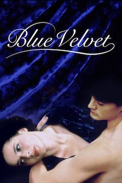 Blue Velvet movie poster.