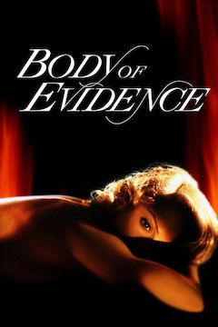 Body of Evidence movie poster.