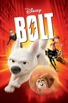 Bolt movie poster.