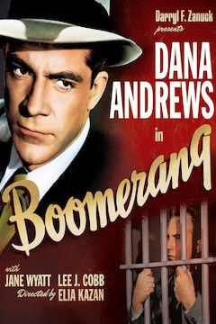 Boomerang! movie poster.