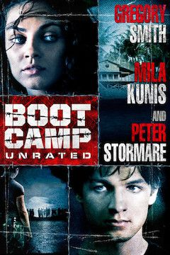 Poster for the movie Boot Camp