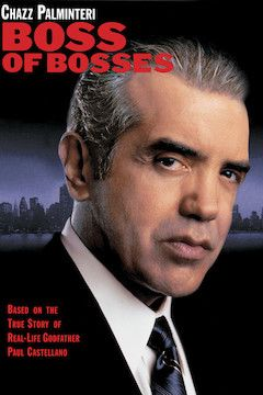 Boss of Bosses movie poster.