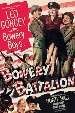Bowery Battalion movie poster.