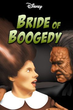Poster for the movie Bride of Boogedy