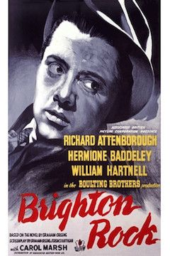Brighton Rock movie poster.