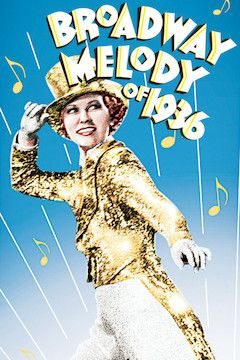 Broadway Melody of 1936 movie poster.