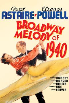 Broadway Melody of 1940 movie poster.