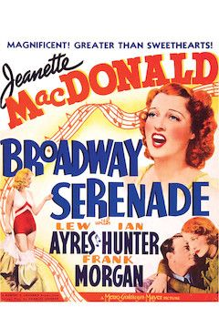 Broadway Serenade movie poster.
