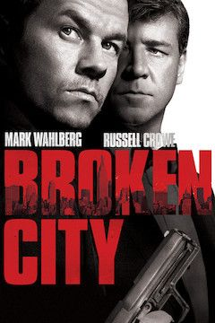 Broken City movie poster.