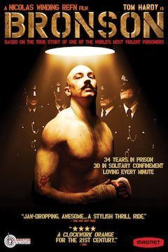 Poster for the movie Bronson