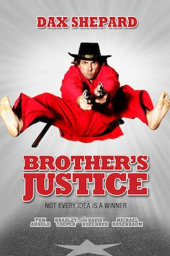 Brother's Justice movie poster.