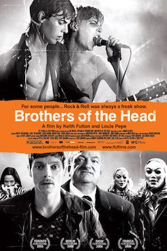 Poster for the movie Brothers of the Head