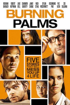 Burning Palms movie poster.