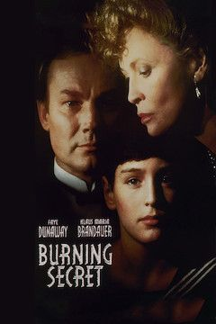 Burning Secret movie poster.